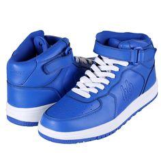 Herren Rookie High Sneaker königsblau – STYLEKINGZZ