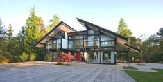 Sustainable Post And Beam Prefab Chic Modern Home By Huf Haus   iDesignArch   Interior Design, Architecture & Interior Decorating eMagazine