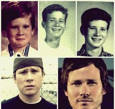 Where's old-fat-beanie-wearing Tom? Angels And Airwaves, Old Fat, Tom Delonge, C Ops, Veteran Car, Travis Barker, Game Face, Rockn Roll, Blink 182