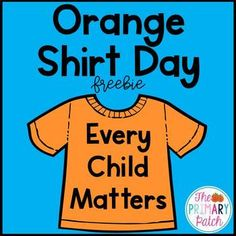Orange Shirt Day is observed each September 30 to honour Residential School survivors, those who did not survive, and their descendants. It is an opportunity for First Nations, schools and communities across Canada and beyond, to come together Primary Activities, Back To School Activities, Teaching Activities, Teaching Writing, Classroom Activities, Teaching Ideas, Classroom Setup, School Ideas, Aboriginal Education