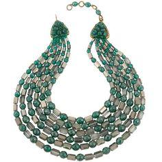 Coppola e Toppo Vintage Six Strand Festoon Necklace