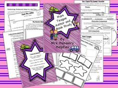 A Mark Teague Author and Book study. This unit contains 4 literature studies and one unit on Mark Teague and book strategies.   https://www.teacherspayteachers.com/Product/Mark-Teague-Author-and-Book-Study-Unit-BUNDLE-1407179