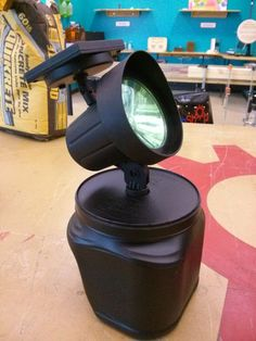 This is for folks that want to put up temporary holiday displays. In this case, these light holders were created for the Nightmare Cruisers Hearse Clu. Halloween Outside, Halloween And More, Outdoor Halloween, Holidays Halloween, Halloween Crafts, Halloween Camping, Halloween 2019, Halloween Yard Decorations, Outdoor Decorations
