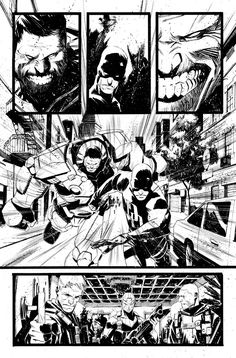 Indestructible Hulk #10 - page 5 by MatteoScalera.deviantart.com on @deviantART