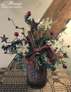 Snowflake Garden class | from Gatherings at Muncy Creek Barn Works