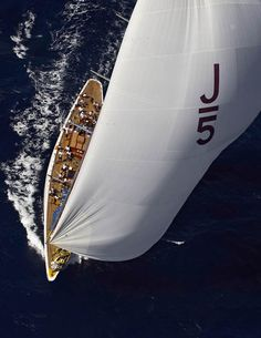 J-Class Sailing Yacht