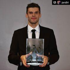 Gratulation @jars84 Seit Wochen Berlins härtester Türsteher und damit auch völlig verdient Norwegens Fußballer des Jahres  #repost #champion  #best #goalkeeper #norway #hahohe #herthabsc