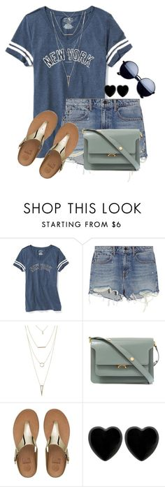 """""""hot"""" by kapreece on Polyvore featuring Old Navy, Alexander Wang, Charlotte Russe, Marni, FitFlop and Dollydagger"""