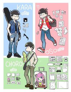 Osomatsu-san Osomatsu, Karamatsu & Choromatsu