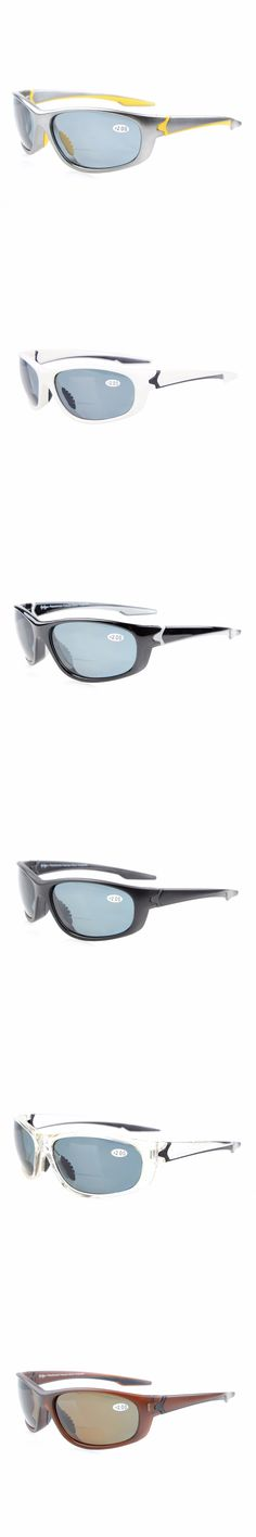 TH6145PGSG Eyekepper Polycarbonate Polarized Bifocal Sport Sunglasses For Men Women TR90 Unbreakable +1.50/+2.0/+2.5
