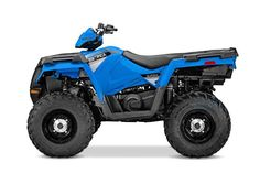 New 2016 Polaris Sportsman 570 EPS Velocity Blue ATVs For Sale in Michigan. 2016 Polaris Sportsman 570 EPS Velocity Blue, SAVE OVER $1,600! SAVE OVER $1,600! 2016 Polaris® Sportsman® 570 EPS Velocity Blue Hardest Working Features Engine Braking System (EBS) Powerful 44 Horsepower ProStar® Engine On-Demand True All Wheel Drive Huge 1,225 lbs. Towing Capacity Hard Working 270 lbs. Combined Rack Capacity Integrated Front Storage Integrated Plow Mounts & Glacier Pro® Plow System Smoothest…