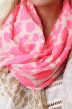 Stand Out Cheetah Scarf | $10.20