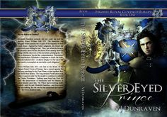 "Cover: ""The Silver Eyed Prince"" by VJ Dunraven « Through My Eyes – Art by Karri"