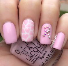 Breast Cancer Awareness Nails: