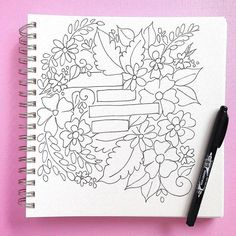 It's @theshinynest here again talking about hand drawn illustrations. In my previous post, I shared a video of me drawing this particular design. I used Tombow's MONO Twin Permanent Marker to draw this in my @bee_paper mixed media sketchbook. And I absolutely love how it turned out!! I always reach for the MONO Twin Permanent Marker because it has an oil-based ink that isn't water soluble. So, if I want to color this illustration in with watercolors or Tombow Dual Brush Pens, the black lines…