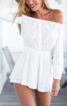 f0494c3e8de 60 Cute Ways To Wear Off The Shoulder Trend On Summer