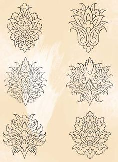 grey Persian Brush Pack 04 Best Picture For Tattoo Pattern arm For Your Taste You are looking for something, and it is going to tell you exactly what you are looking for, and you didn't find that pict Islamic Art Pattern, Pattern Art, Pattern Design, Motif Design, Persian Pattern, Persian Motifs, Tattoo Girls, Girl Tattoos, Stencils