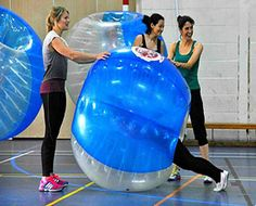 Zorb Bubble Games Hen Party Activity