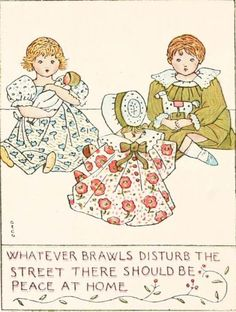 Isaac Watts. Divine and Moral Songs for Children. London, 1904.  Illustration by George Gaskin.