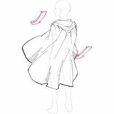19 New Ideas for drawing clothes cape 19 New Ideas for drawing clothes cape Drawing Techniques, Drawing Tips, Drawing Sketches, Cool Drawings, Body Drawing, Drawing Base, Manga Drawing, Drawing Reference Poses, Design Reference