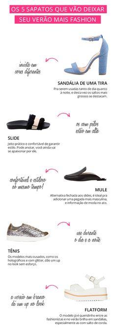 Esses são os sapatos que não sairão dos seus pés no próximo verão, entenda o por quê.