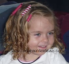 Curly Hairdo Ideas: Sidewinders Hair Holders ~ Floating Hairstyle (with video!)