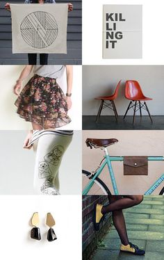 Killing It by Melissa Davison with Marapulai Shoes on Etsy (Pinned with TreasuryPin.com)