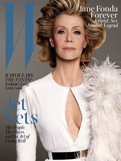 Jane Fonda for W Magazine