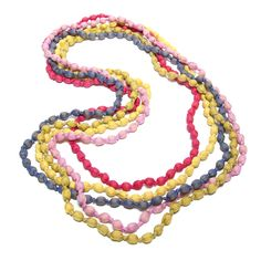 Fair Trade Silk Knotted Necklaces from Cambodia