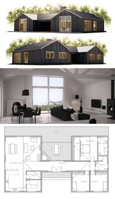 Container House - Nice 87 Shipping Container House Plans Ideas - Who Else Wants Simple Step-By-Step Plans To Design And Build A Container Home From Scratch? Small House Plans, House Floor Plans, House Plans With Courtyard, Interior Courtyard House Plans, Dog Trot House Plans, Sims House Plans, Modern House Plans, Shipping Container House Plans, Shipping Containers