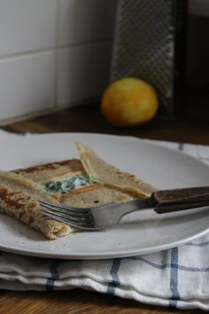 Buckwheat pancakes with Ricotta & spinach @ Healthyfoodie baby