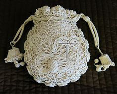 Free Irish Crochet Bag Pattern : crochet wedding purse patterns Free Crochet Patterns ...