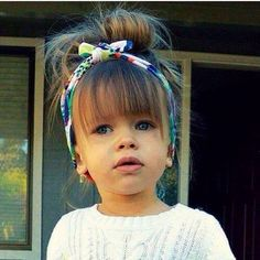 What a freaking cutie! Can't wait to have a little girl! Cause I don't think either of my 2 boys would be happy if I played with their hair lol!