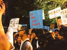 SEALDs始まります!!説明した結果反対する人が増えてるのならそんな法案早く廃案にするべきです。  #本当に止める 2015/7/16
