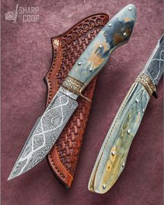 """If you are in a circle of prominent ABS members and the name *James Rodebaugh, MS* comes up, all heads nod in agreement. He's GOOD! . L@@K at the bronze, the steel, the mammoth and the filework. Then look at his sheath. Then repeat after me: """"Wow. He's GOOD!"""" #jamesrodebaugh"""