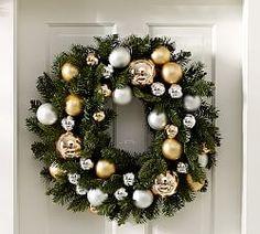 Christmas Wreaths & Garlands   Pottery Barn