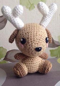 Amigurumi Deer