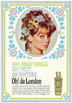 Yardley Oh De London Ad 1960s