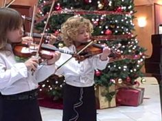 violin Christmas performance; Silent Night with her violin group at the Parc at Piedmont retirement home—See more of this young violinist #from_CourtneyCHoffman