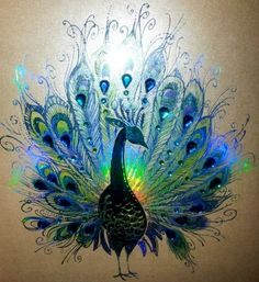 ideas tattoo feather peacock pavo real for 2019 Peacock Decor, Peacock Colors, Peacock Art, Peacock Design, Peacock Feathers, Peacock Drawing, Peacock Painting, Peacock Tattoo, Feather Tattoos