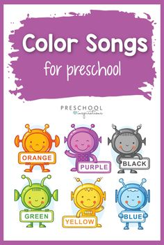 The Best Color Songs for Kids