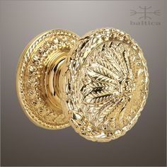Delicieux Verona Door Knob U0026 Rose 60mm | Polished Brass | Custom Door Hardware  Www.balticacustomhardware