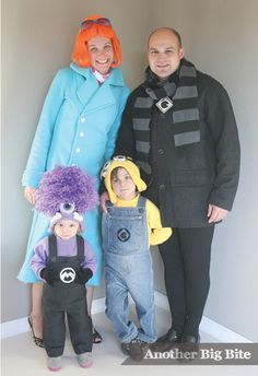 Family Halloween costumes that will inspire you to dress in a family theme this year! Great DIY Halloween costume ideas for the whole family!