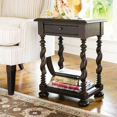 I pinned this Paula Deen Home Sweet Tea Side Table from the Destination: Montecito event at Joss and Main!