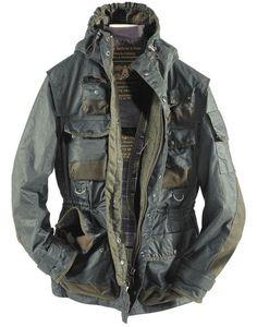 Barbour Tokihito Military Jacket