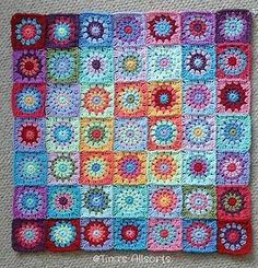 I'm going to make 2 baby blankets simultaneously Harmony Baby & Harmony Baby #2. (I'm using the same yarn as my Tooty Harmony Blanket as I figured I'd have plenty of little bits left over.)  I'...