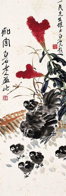 齐白石 加官图 by China Online Museum - Chinese Art Galleries, via Flickr