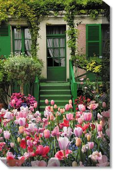 Tulip House Weatherprint Art