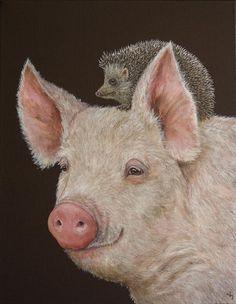 Pinzellades al món: Els simpàtics animals de Vicki Sawyer / Los simpáticos animales de Vicki Sawyer / The friendly animals Vicki Sawyer