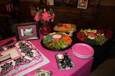 My great -nieces baby shower